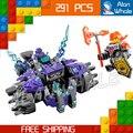 291 шт. Новые Рыцари 14028 Три Брата DIY Модель Строительство Комплект Блоки Устанавливает Игрушки Nexus Совместимо с Lego