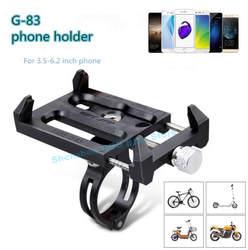 Gub G-83 противоскользящие Универсальный велосипед 3,5-6,2 дюймов держатель телефона кронштейн для смарт-мобильный телефон руль Клип Стенд