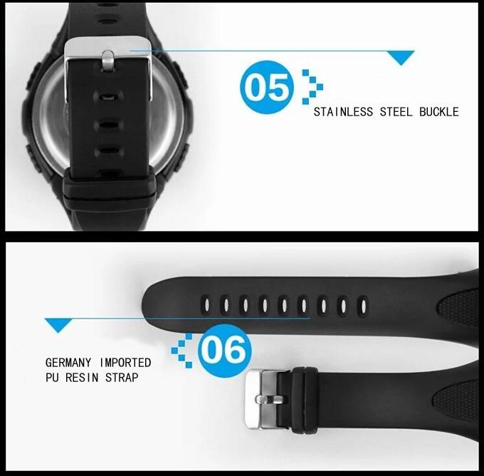 18 New Skmei Brand Men LED Digital Military Watch, 50M Dive Swim Dress Sports Watches Fashion Outdoor Wristwatches 21