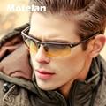 Hombres día noche conductor de aluminio y magnesio polarizado gafas de sol new 2017 hombres de calidad superior gafas de sol gafas de visión nocturna