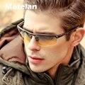 Homens de alumínio e magnésio polarizada dia e noite motorista óculos de sol new 2017 top qualidade masculino óculos óculos de sol óculos de visão noturna