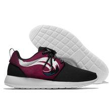 Мужская обувь; женская обувь Colorado Avalanche; модные кроссовки; коллекция 2018 года; черная обувь для девочек; дышащая обувь унисекс на шнуровке