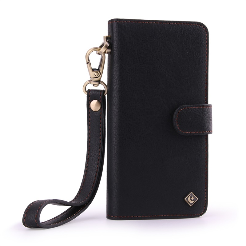 JAMULAR Business PU Leather Wallet Phone Case for iPhone 7 8 Plus XS MAX X XS XR Flip wallet Cover for iPhone 6 6S plus coque