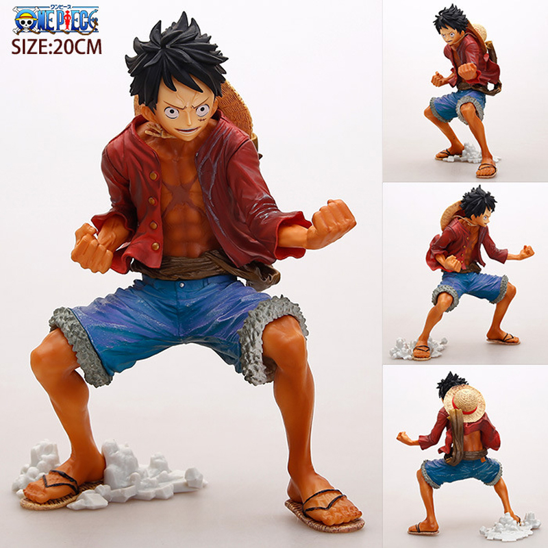 One Piece Luffy PVC Action Figure Fighting Luffy One Piece Anime Collectible Model Figurine One Piece