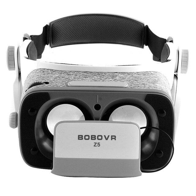 BOBOVR Z5 виртуальной реальности 3D очки для iphone samsung смартфоны Xiaomi FOV 120 градусов VR стерео коробка картонная гарнитура