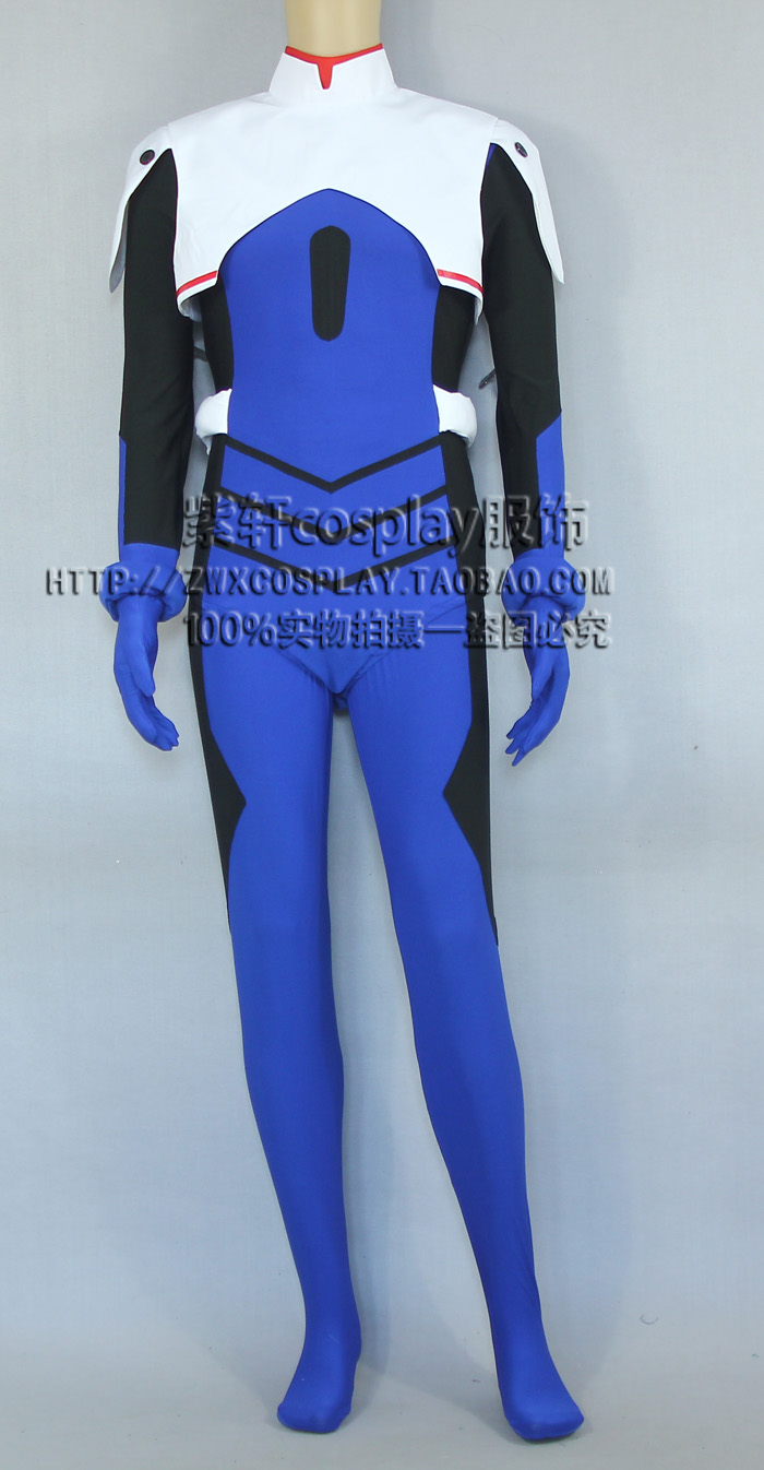 Anime Neon Genesis Evangelion Cosplay Ikari Shinji Cos Halloween Party Battle dress Jumpsuits Size S-XL neon genesis evangelion the shinji ikari raising project omnibus volume 2