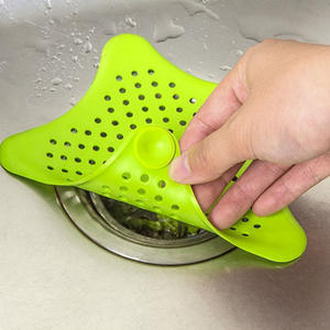 Strainer SINK-FILTER Star Kitchen Hair-Stopper-Catcher Sewer Bathroom-Accessories Floor