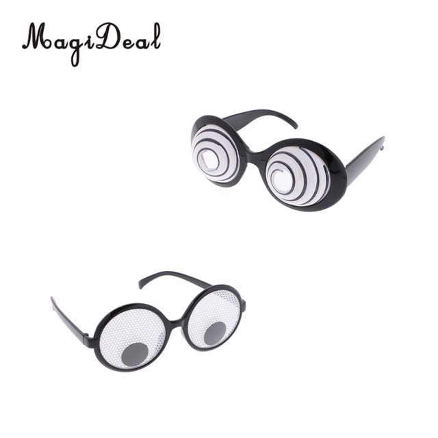 6009ec71b5c MagiDeal Googly Eyes Funny Joke Glasses Fancy dress Party Novelty Moving  Halloween Costume Party Favors Joke