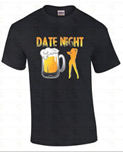 Stylish Men'S Fashion Short O-Neck Date Night Funny St Patricks Day Party Mug Girl Drinking Beer T Shirts