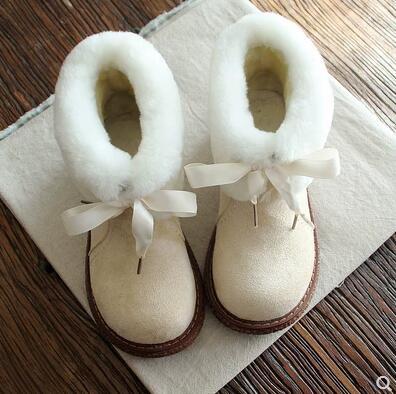 Zapatos Universidad 3 1 Fan Mujer Invierno La 2 Redonda Para Nuevo Mujeres Grueso Fondo Botas Cabeza Viento Bebé Nieve De Las Versátil 4 Caliente Artística v8vFqgx1
