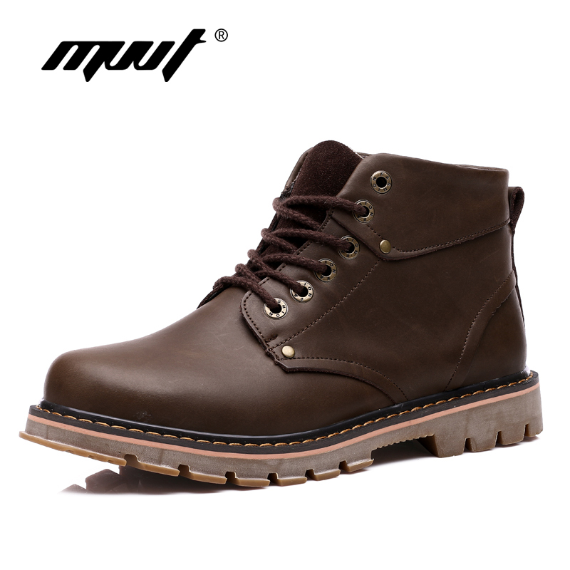 Genuine Leather Men Boots Martin Men Autumn Boots Water ...