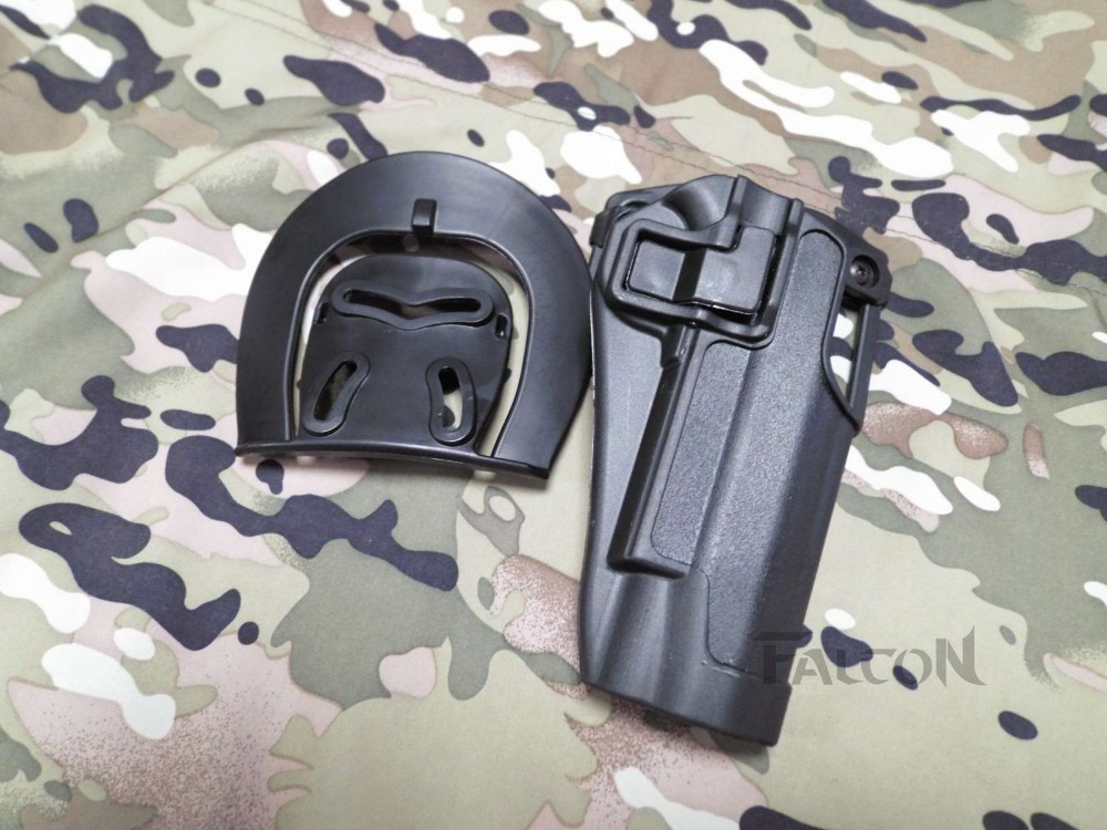Envío gratis Quick Draw Tactical Airsoft Holster Militar Mano - Caza - foto 3
