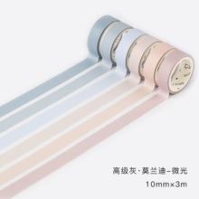 6 Pcs/lot Fall Decorative Paper Green Pink Purple Washi Tape Set Japanese Stationery Kawaii Scrapbooking Supplies Stickers(China)