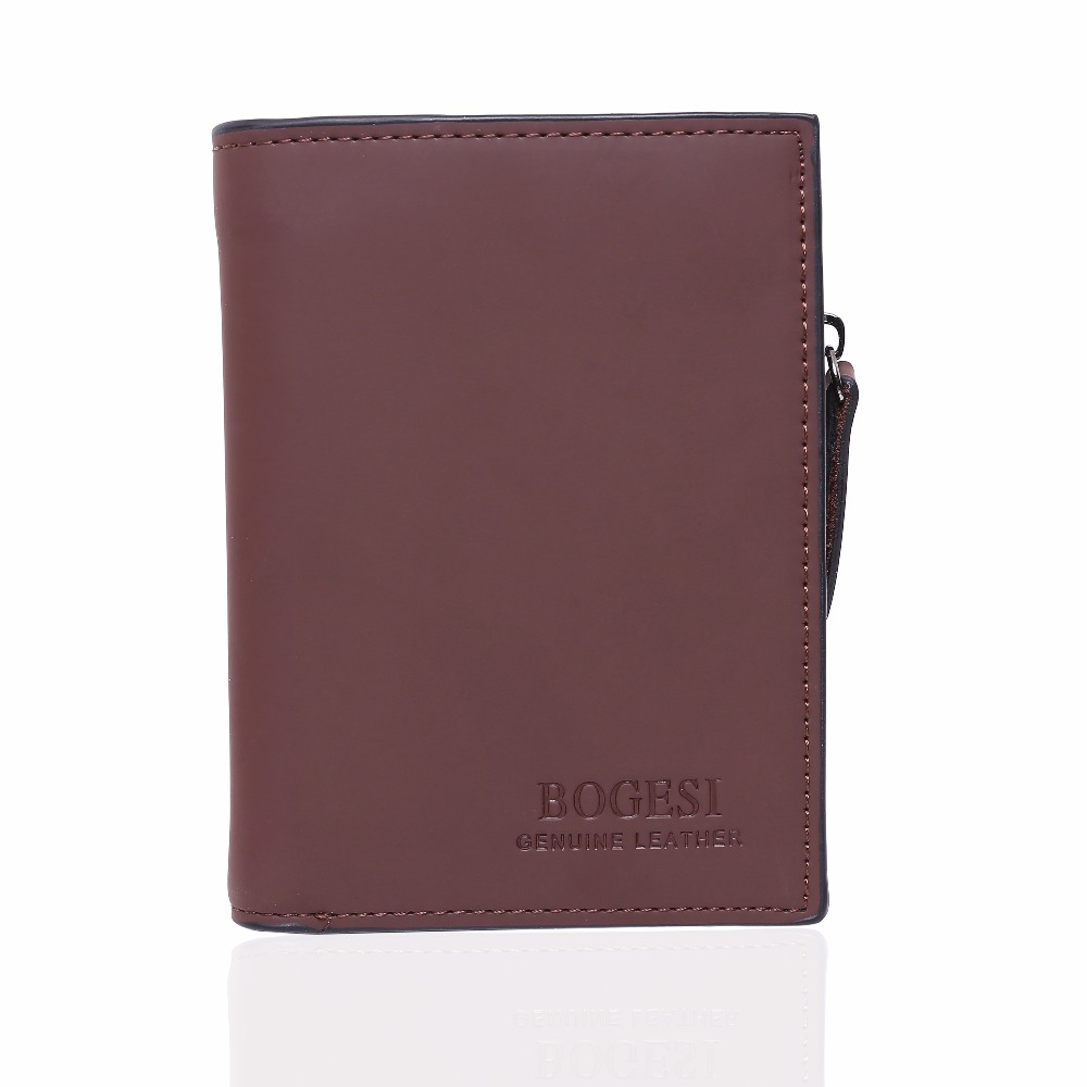 New Arrive Leather Wallet Men Zipper & Hasp Short Wallets Solid Color High Quality Male Money Purse Card Holders Mobile Bag 2016 new hot sell men wallets hasp short solid color mini wallet male waist hook design dollar price photo holder