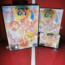Sega MD карточная игра – горячие игры корзина с коробкой и руководство для 16 бит Sega MD карточная игра картридж Megadrive бытие система