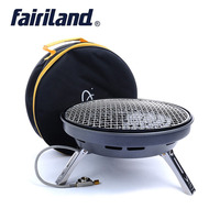 Picnic outdoor stove multifunctional gas stove, large power BBQ gas grill, frying pan portable cooking stove for 4 8 persons