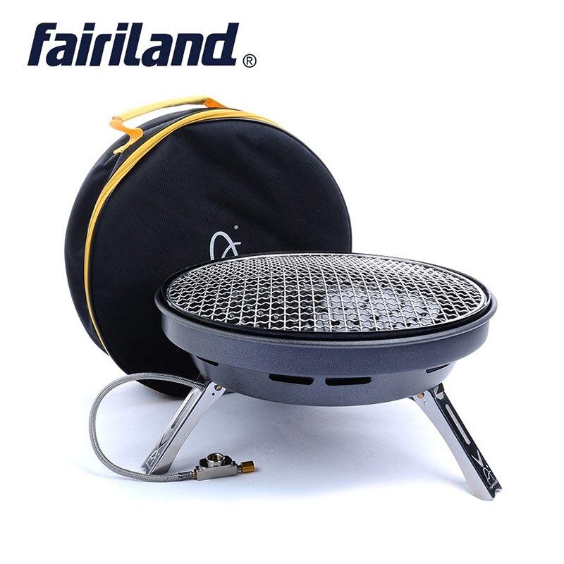 Pique-nique poêle d'extérieur multifonctionnel réchaud, grande puissance barbecue gril à gaz, poêle à frire portable plaque de cuisson pour 4-8 personnes