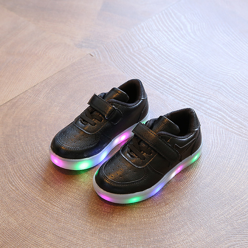 2017-new-light-childrens-shoes-stars-boys-and-girls-LED-lights-anti-skid-students-casual-shoes-3