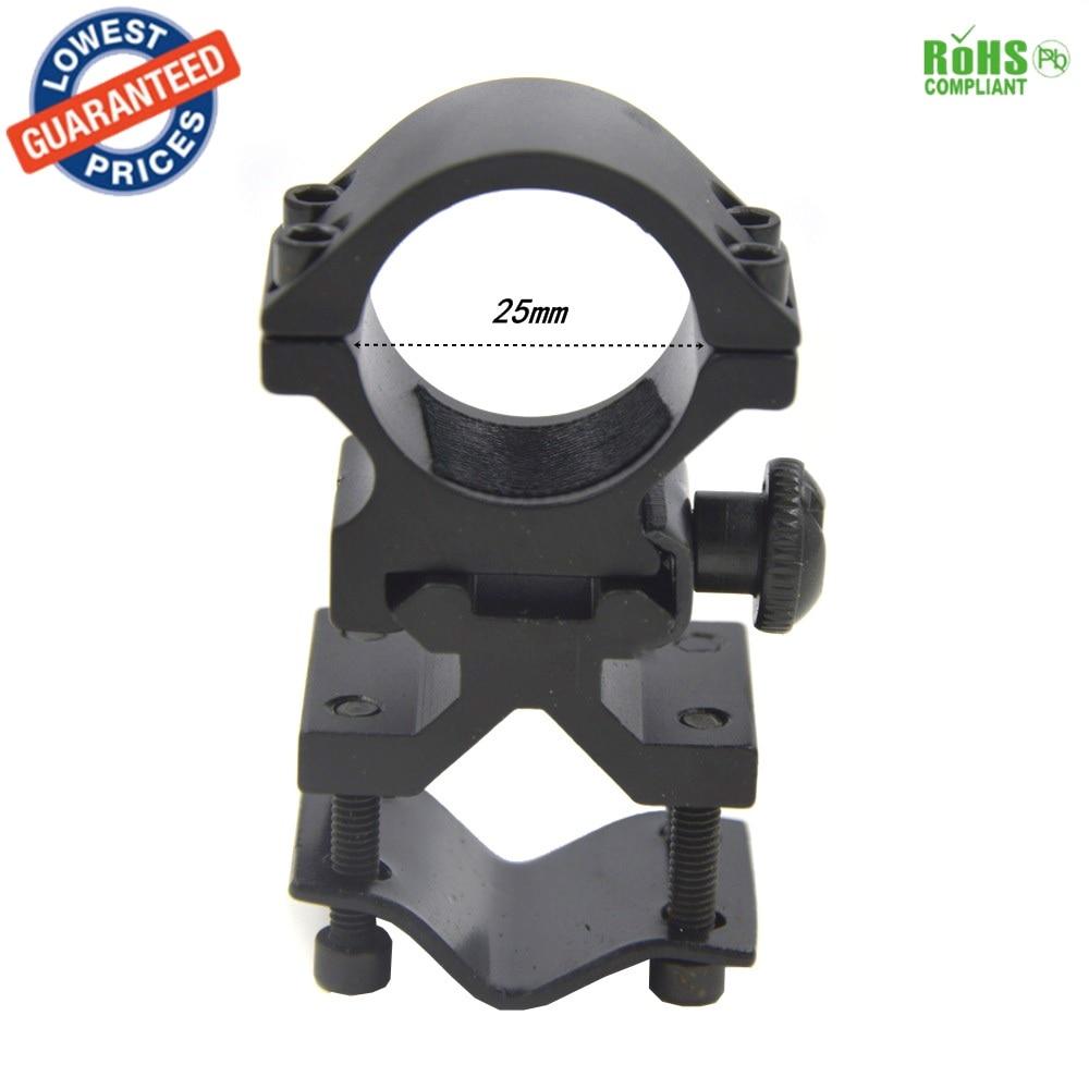 Universal Barrel Mount 25mm ring 20mm rail for scope//sight//laser//light//torch