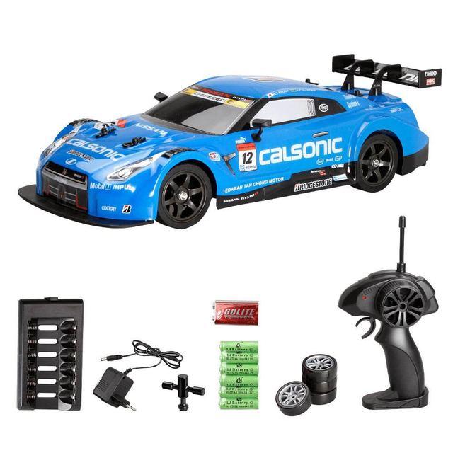 Mobil Rc Untuk Kejuaraan Mobil Balap Drift 4wd Gtr 2 4g Mainan Hobi Elektronik Kendaraan Remote Control Radio Rockstar Off Road Mobil Rc Aliexpress
