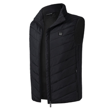 Electric Heated Vest font b Men b font Women Usb Heater Tactical Waistcoat Thermal Warm Fishing