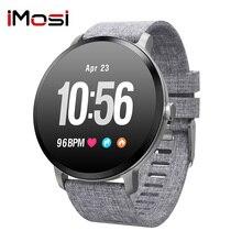 Imosi V11 Smart watch IP67 waterproof Activity Fitness tracker Blood pressure Heart rate monitor Men women smartwatch