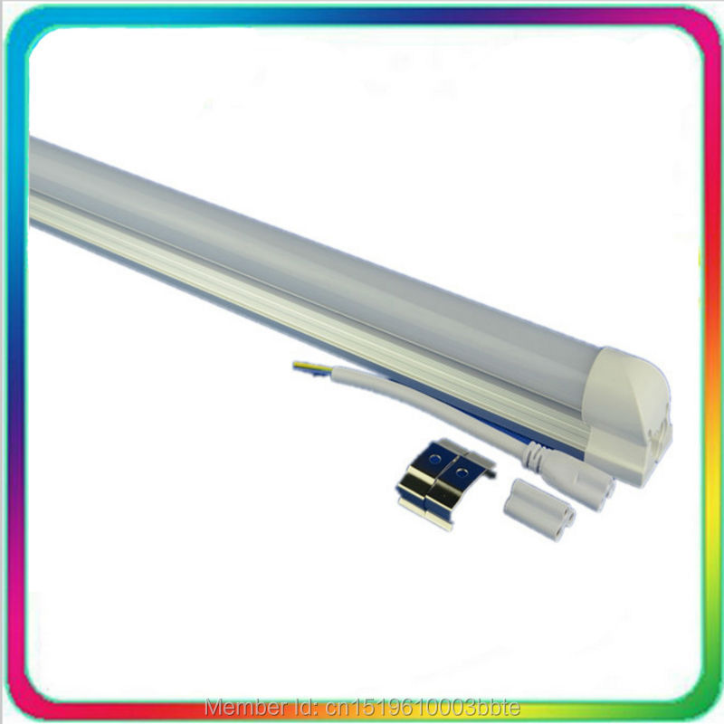 60PCS Warranty 3 Years Super Bright 1.2m 18W <font><b>4ft</b></font> <font><b>T8</b></font> <font><b>LED</b></font> <font><b>Tube</b></font> 1200mm Bulb Light Fluorescent Lamp Daylight Lighting image