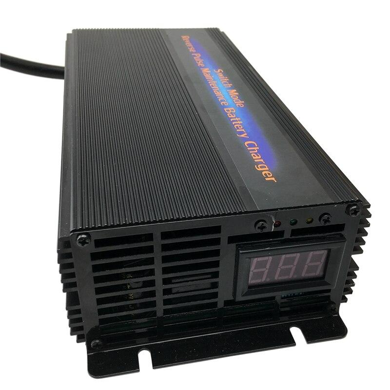 48 v 20A Batterie De Voiture Chargeur Responsable Desulfator 7-étape Impulsion Sans Entretien Au Plomb-Acide Chargeur de Batterie Adapté pour 60-180AH
