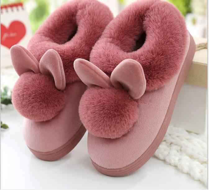 Botas de Invierno para mujer, botas de invierno para mujer, botas de nieve de piel de felpa, zapatos de plataforma de moda gris