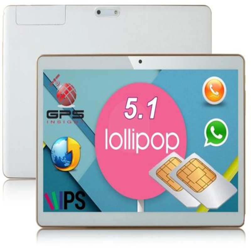10 9,6 Zoll Pad Telefon Tablet Pc 48 Gb 3g Quad Core Hd Ips Dual Sim Gps Navigation Android 5.1 9,7""