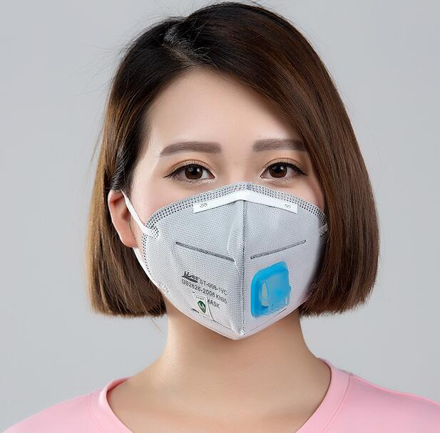 Paint Pm2 5 Dust Haze N95 Fumes 20pcs Valve Men Industrial Breathing And Charcoal Breathable Women Masks Protective