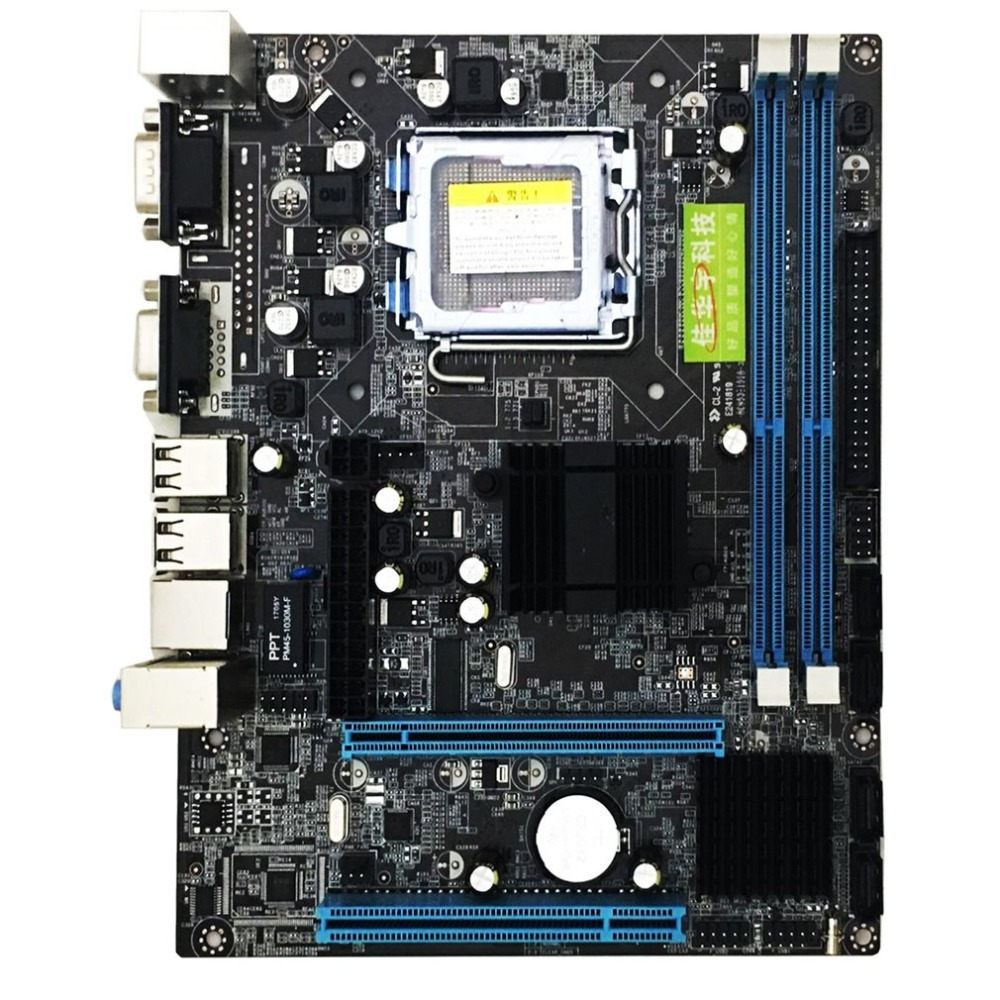 Image 3 - LGA 775 Gigabyte Motherboard G41 Desktop Computer Mainboard USB 2.0 DDR3 Memory 8GB 1066 1333MHz VGA Dual Core CPU SATA2.0-in Motherboards from Computer & Office