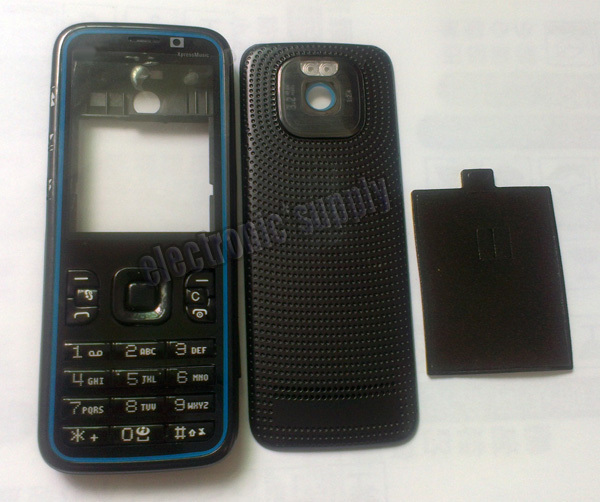 Blue 5630 Housing Case Faceplate Keypad Buttons Cover For Nokia XpressMusic Cell Phone Replaements Price
