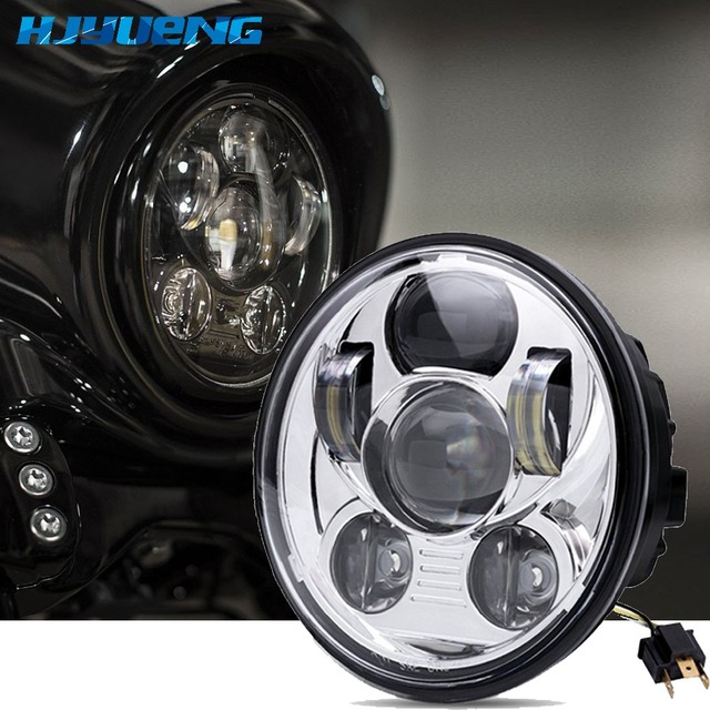 """HJYUENG 45W 5-3/4"""" Projector led Headlamp Street FXDB FXDF 2016 Sportster 5.75inch For Harley Davidson 1200 Iron 883"""