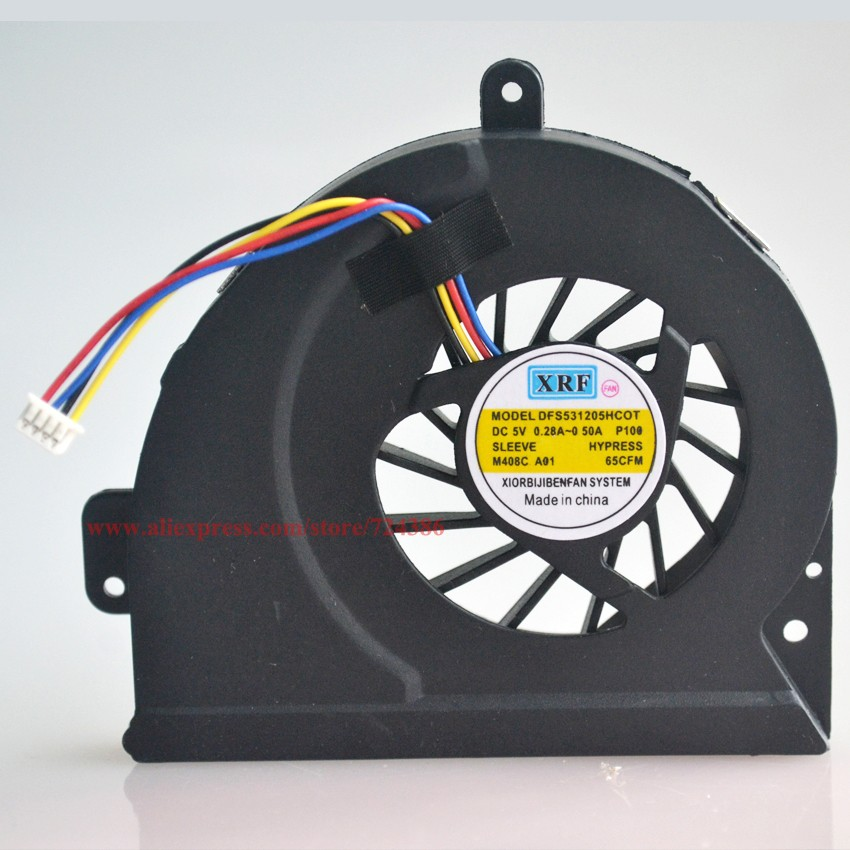 100%New Cooling Fan For ASUS A43 X53S A43S X43S X44H K43 X54H X230 cpu Cooling Fan K53S A53S K53SJ laptop cpu cooling fan cooler cpu laptop cooling fan for fujitsu siemens amilo d1840 d1840w d1845 bi sonic bp541305h cooling fan dv 5v 0 36a round fan