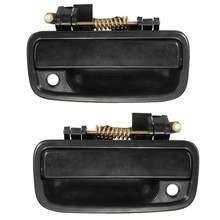 2 шт черный пикап наружная дверная ручка левая/правая набор для Toyota Tacoma 1995-2004