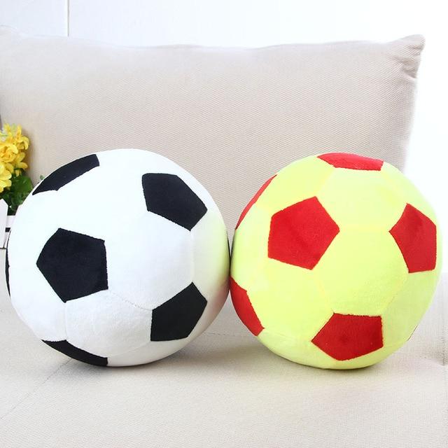 New Arrival Cartoon Football Soccer Ball Shape Cushion Pillow Decorative Cute Plush Doll
