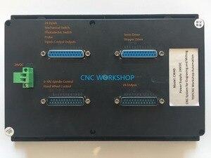 Image 3 - 4 assige CNC controller vervangen Mach3 USB CNC Controle boren graveren router stepper servo motor controller met handwiel