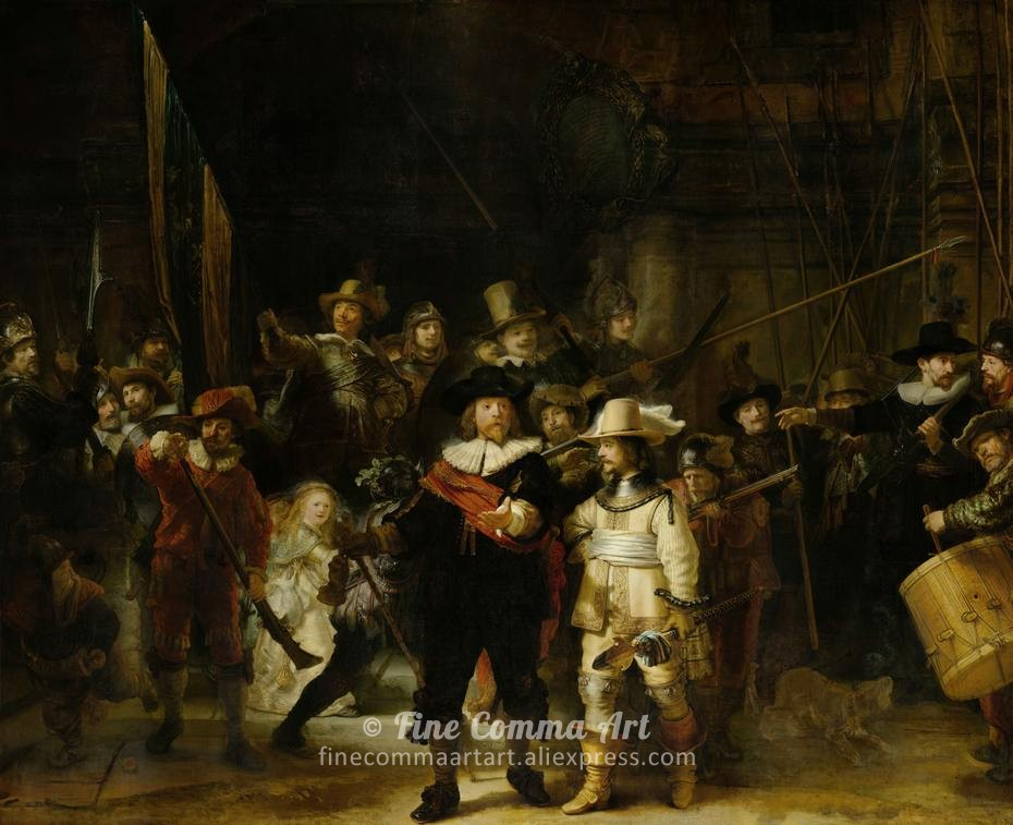 The_Nightwatch_by_Rembrandt_930px