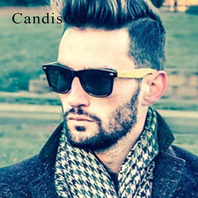 a10e5d26a898c Quadrado rebite Moda Óculos de Sol De Madeira De Bambu Clássico Legal Das  Mulheres Dos Homens Marca Desinger óculos de Sol Espelho Retro masculino  Feminino