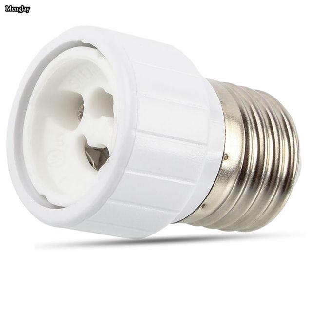 1x E27 To GU10 Fireproof Material Lamp Holder Converters Socket Adapter Light Bulb Base Type