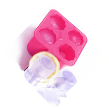 Ice Shots Glasses Mold Food Grade Silicone creative ice cup cube molds DIY Craft Clay Flower Pot