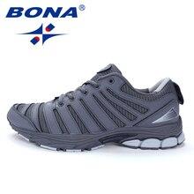 BONA New Bassics Style Men Running Shoes Outdoor Walking Jog