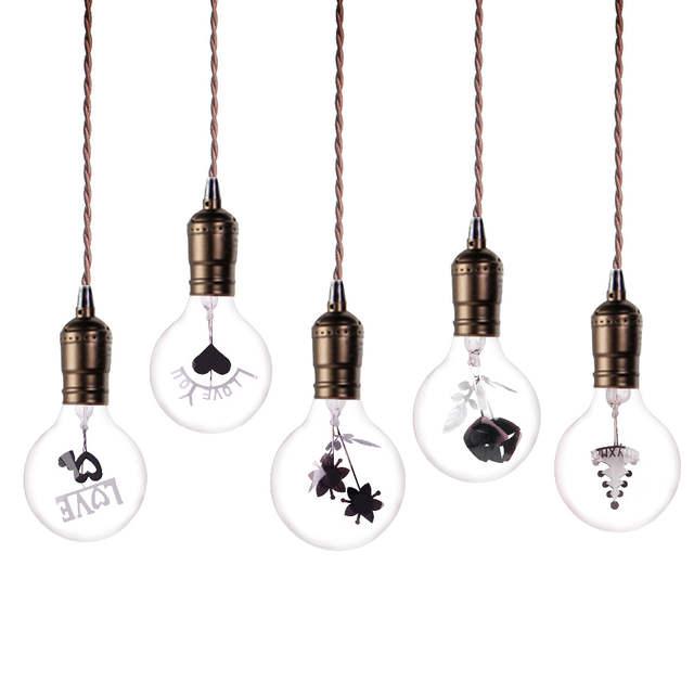 Christmas Light Bulbs.Us 2 79 31 Off Lampadine Incandescent Bulb G80 E27 Vintage Edison Lamp 220v Novelty Lights Bulb 3w Christmas Lights Ampoules For Home Decor In