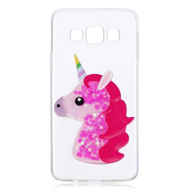 cover samsung a3 unicorno