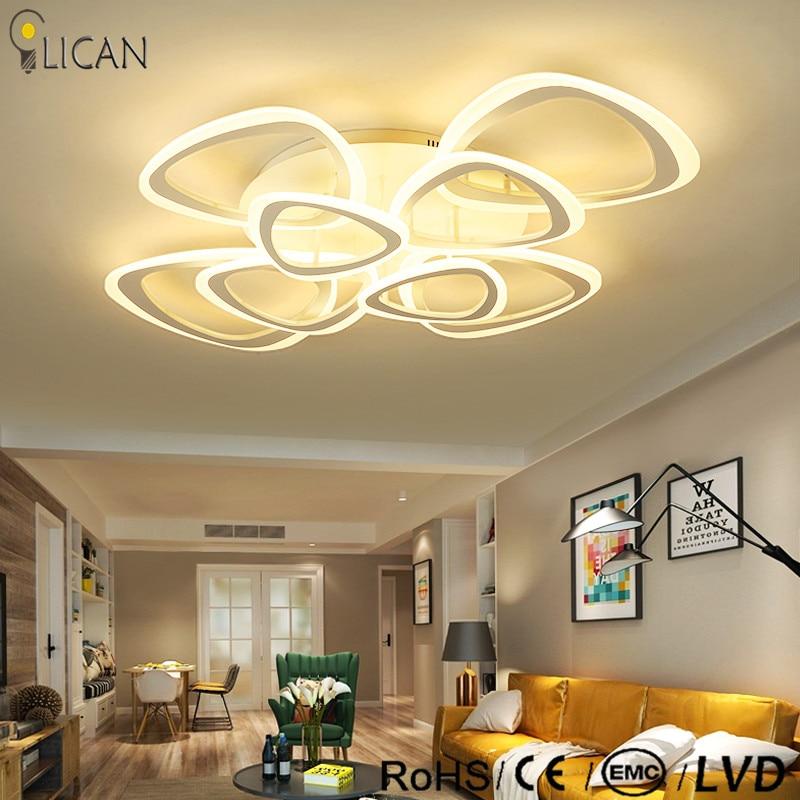 Modern Chandelier lighting Ceiling Chandelier For Living Study Room Bedroom Aluminum Modern Led Ceiling Chandelier lustre lights