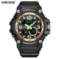 WEIDE Electronic Digital Watch Complete Calendar Resistant 50 Meters Waterproof Alarm Fashion Multi function Wristwatch for Man
