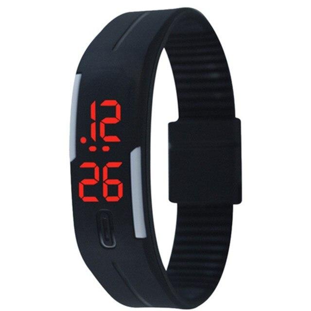 Relojes mujer 2016 New LED touch waterproof luminous wristwatch hand ring bracel