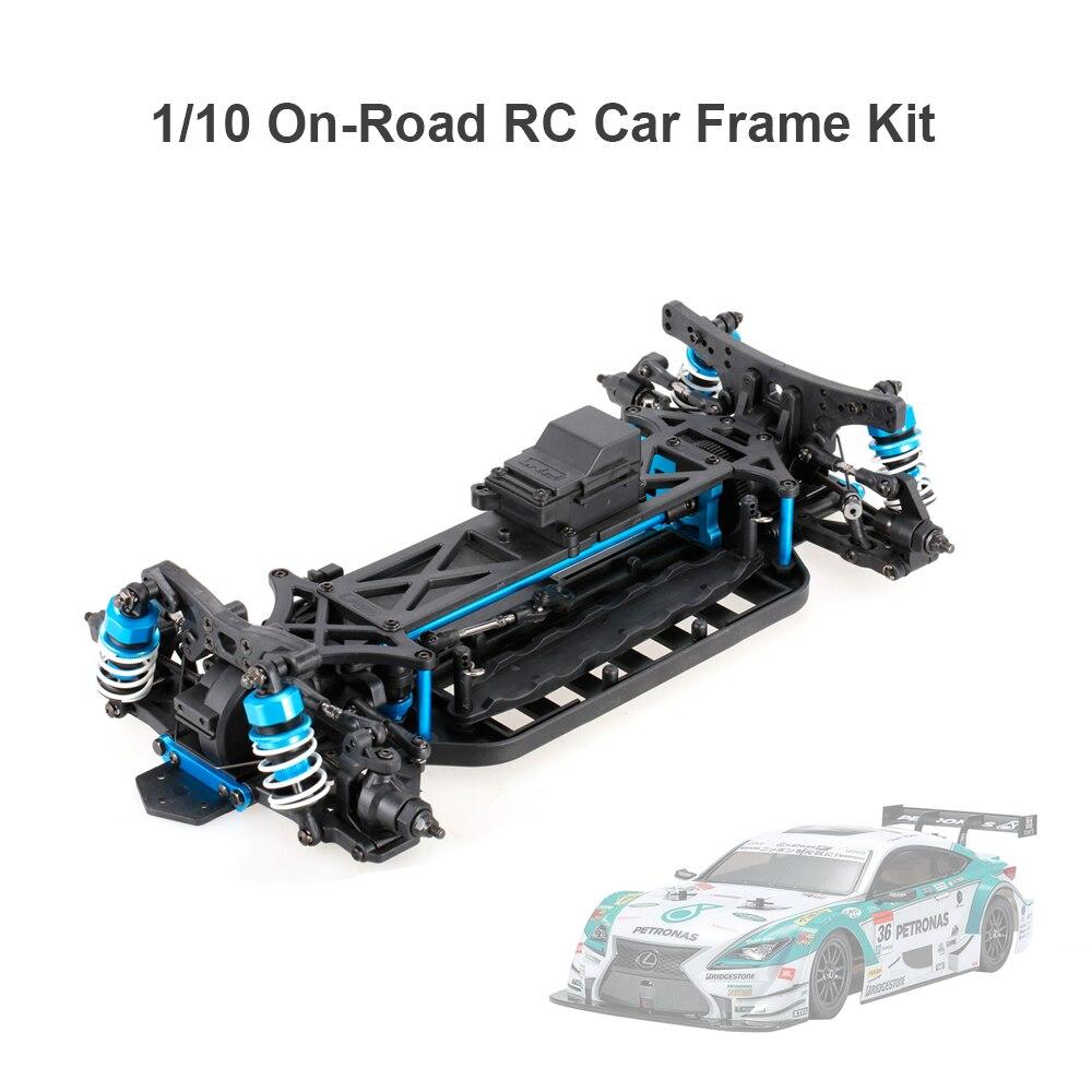 1/10 4WD Elektrische On Road Drift Racing Auto Rahmen Kit Chassis ...