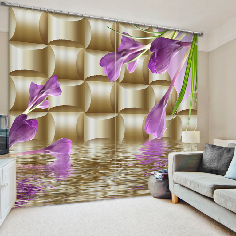 flower curtains Window Blackout Luxury 3D Curtains set For Bed room Living room Office Hotel Home Wall Decorative Drape tapestryflower curtains Window Blackout Luxury 3D Curtains set For Bed room Living room Office Hotel Home Wall Decorative Drape tapestry